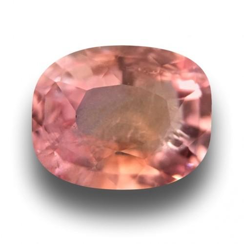 1.32 Carats | Natural Pinkish orange sapphire |Loose Gemstone|New| Sri Lanka