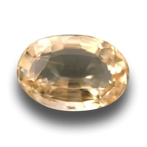 1.14 Carats|Natural Unheated Yellow Sapphire|Sri Lanka - New