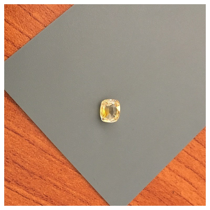 1.50 Carats|Natural Yellow Sapphire|Loose Gemstone|Ceylon - NEW