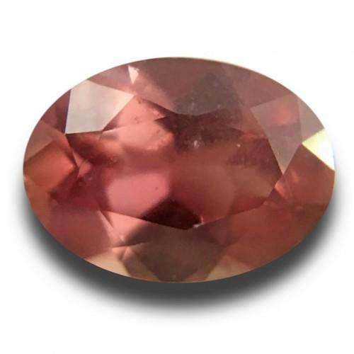 1.58 Carats | Natural Pink brown sapphire |Loose Gemstone|New| Sri Lanka
