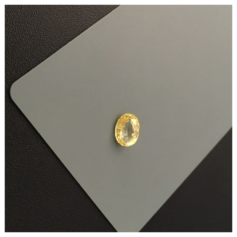 2.04 Carats|Natural Yellow Sapphire|Loose Gemstone|Ceylon - NEW