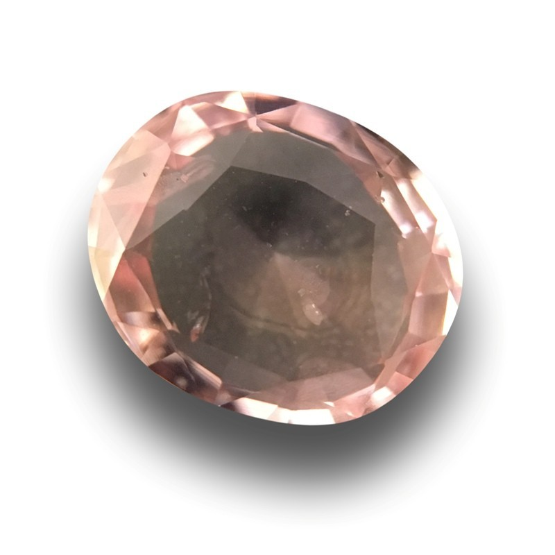 1.27 Carats | Natural Pinkish Orange padparadscha |Loose Gemstone|New| Sri Lanka