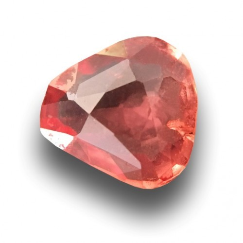 0.58 Carats | Natural Orange Pink padparadscha |Loose Gemstone|New| Sri Lanka