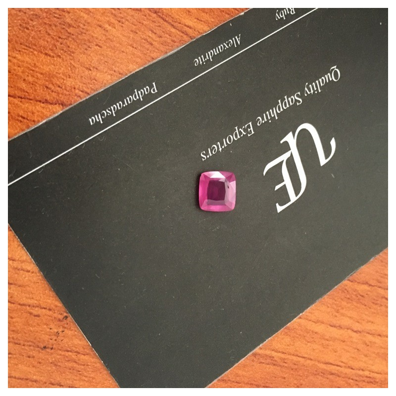 1.23 Carats|Natural Pink Sapphire |Loose Gemstone |ri Lanka - New