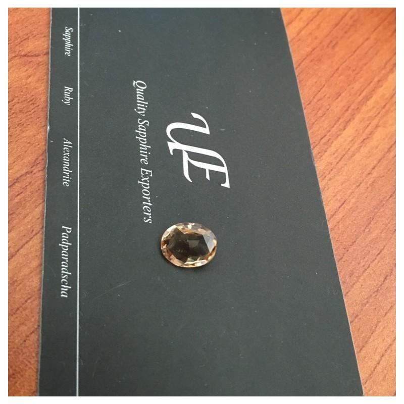 1.89 Carats | Natural Orange sapphire |Loose Gemstone|New| Sri Lanka