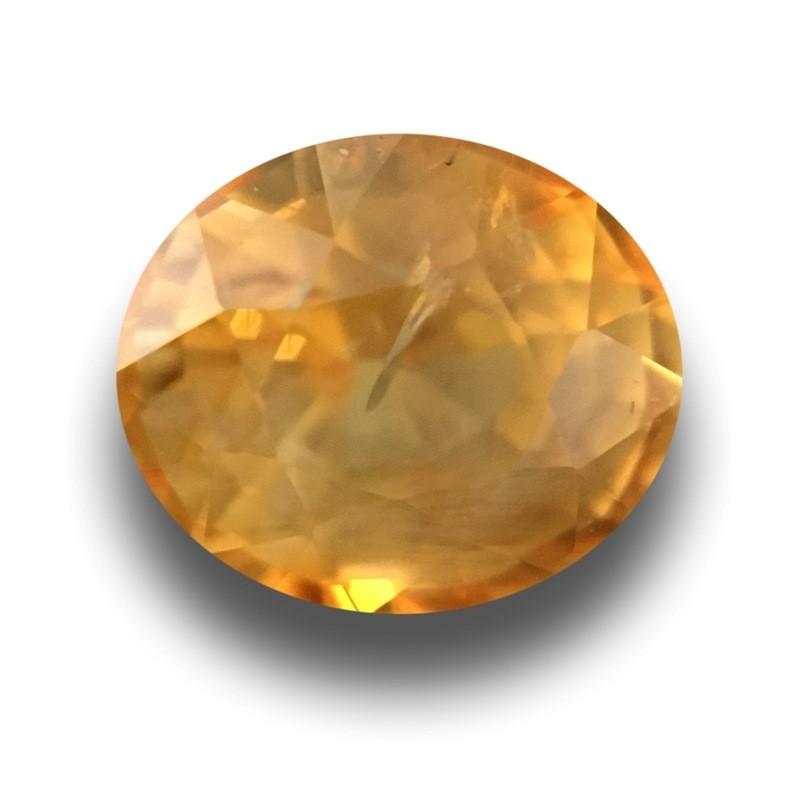 1.42 Carats | Natural Yellow Sapphire | Loose Gemstone | New | Sri Lanka