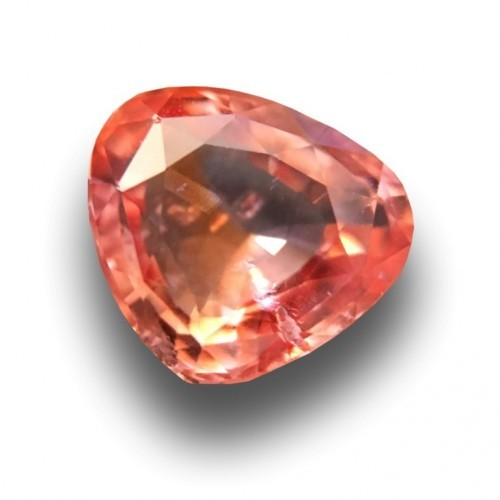 1.33 Carats | Natural orange sapphire |Loose Gemstone|New| Sri Lanka