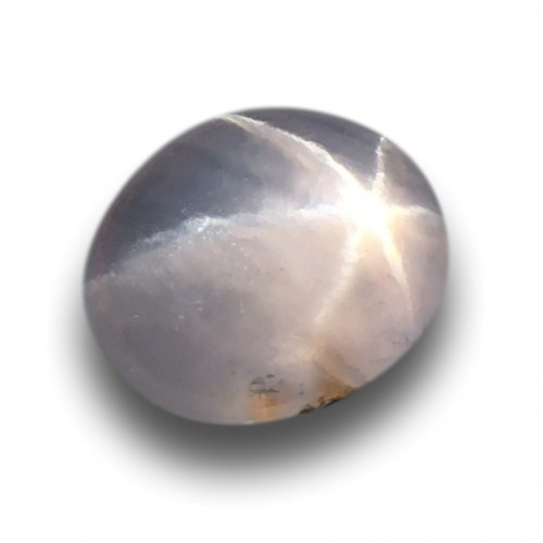1.72 Carats | Natural Unheated White star sapphire |Loose Gemstone|New| Sri Lanka