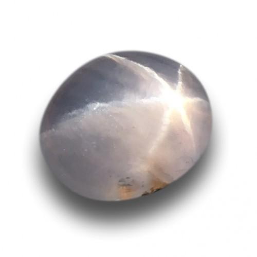1.72 Carats | Natural Unheated White star sapphire |Loose Gemstone|New| Sri Lanka