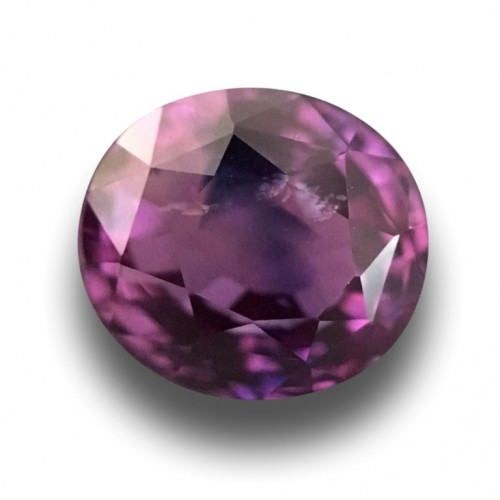 2.2 Carats | Natural purple sapphire |Loose Gemstone|New| Sri Lanka