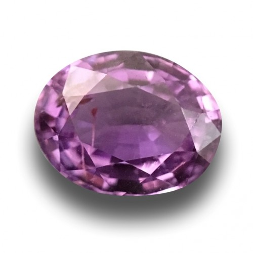 1.38 Carats | Natural purplish Pink sapphire |Loose Gemstone|New| Sri Lanka