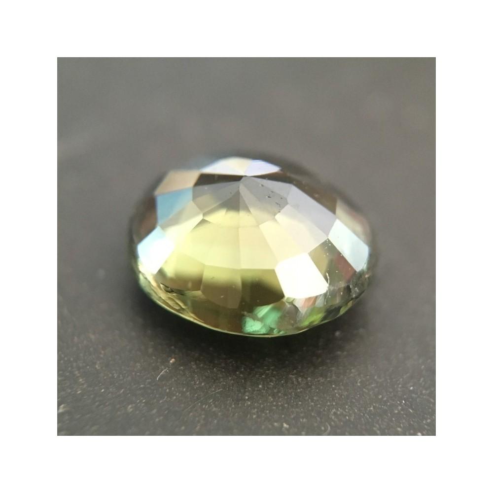2 01 Carats Natural Green Sapphire Loose Gemstone