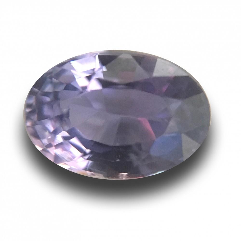 1 67 Carats Natural Unheated Violet Sapphire Loose Gemstone New Sri Lanka
