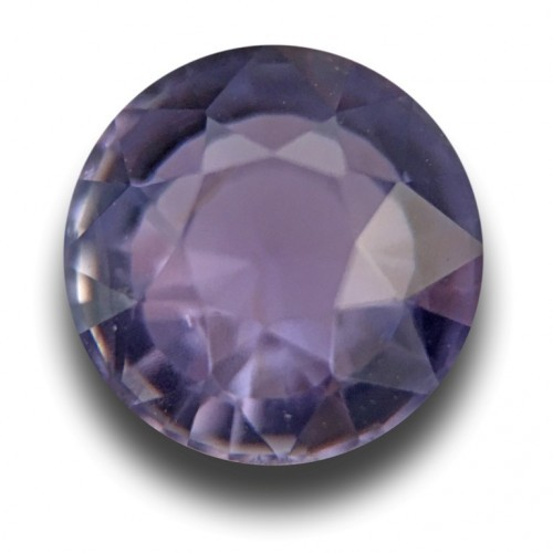 1.24 Carats | Natural Unheated Violet sapphire | New | Sri Lanka