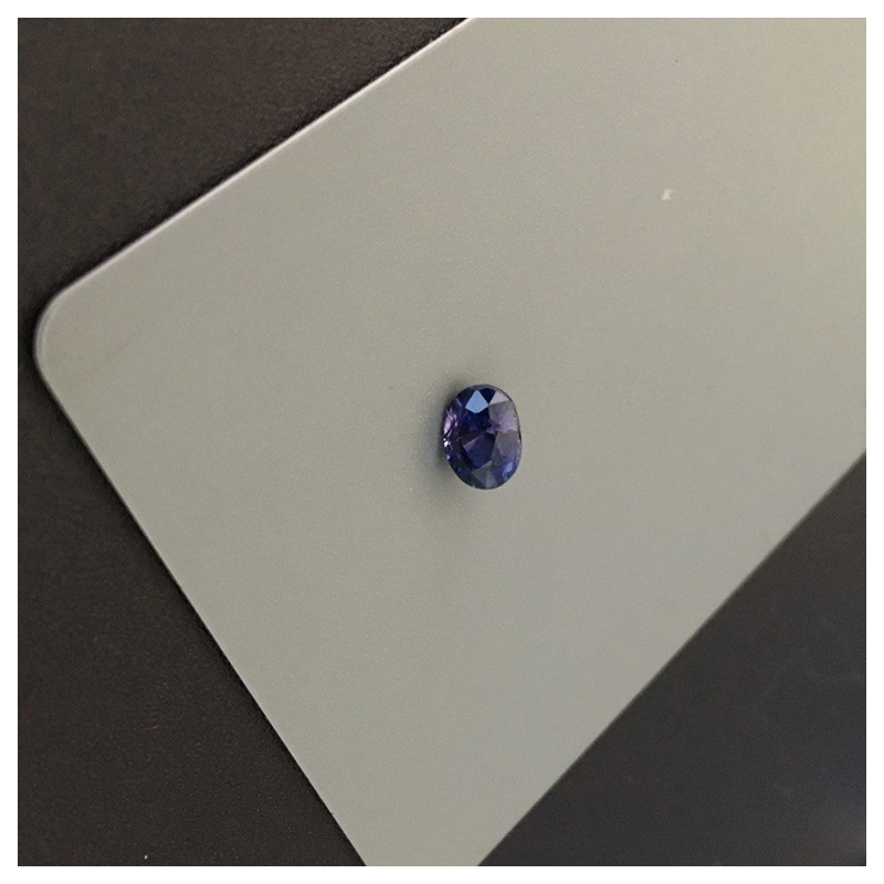 1.28 Carats | Natural Purplish Blue sapphire |Loose Gemstone|New| Sri Lanka