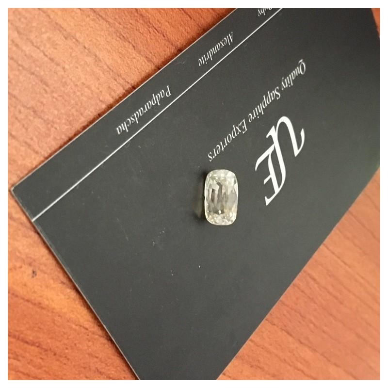 2.34 Carats|Natural Unheated Yellow Sapphire|Loose Gemstone|Sri Lanka - New