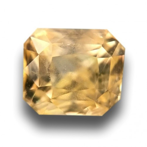 1.15 Carats|Natural Yellow Sapphire|Loose Gemstone|New|Sri Lanka