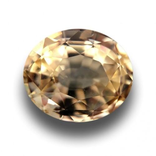 1.58 Carats|Natural Yellow Sapphire|Loose Gemstone|New|Sri Lanka
