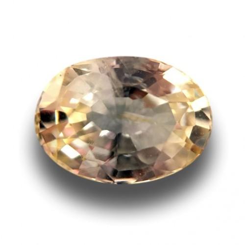 1.01 Carats|Natural Yellow Sapphire|Loose Gemstone|New|Sri Lanka