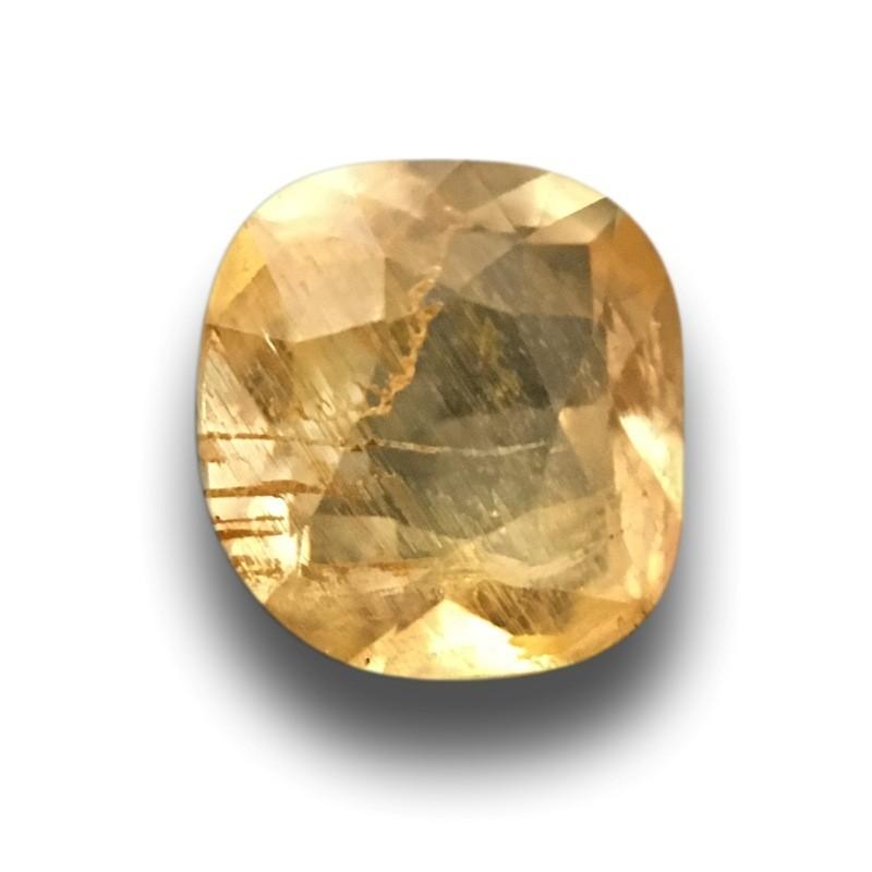 0.71 Carats|Natural Yellow sapphire|Loose Gemstone|New|Sri Lanka