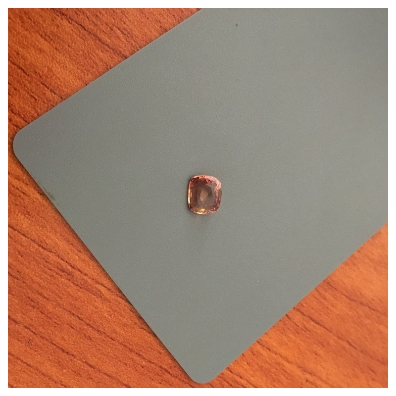 1.06 Carats | Natural Orange Pink padparadscha |Loose Gemstone|New| Sri Lanka