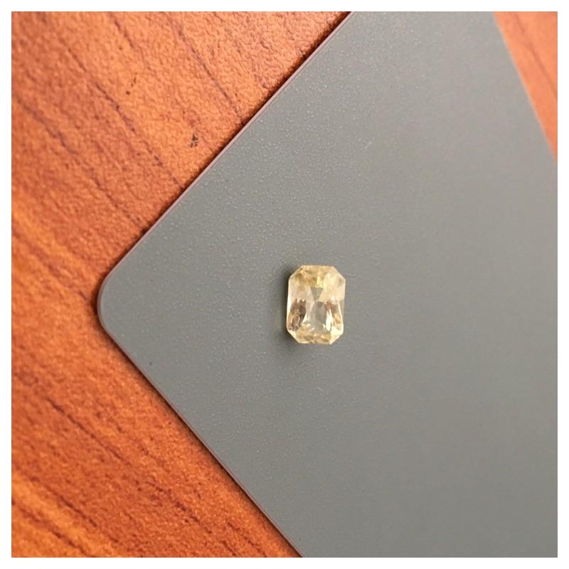 1.16 Carats|Natural Unheated Yellow Sapphire|Loose Gemstone|New|Sri Lanka