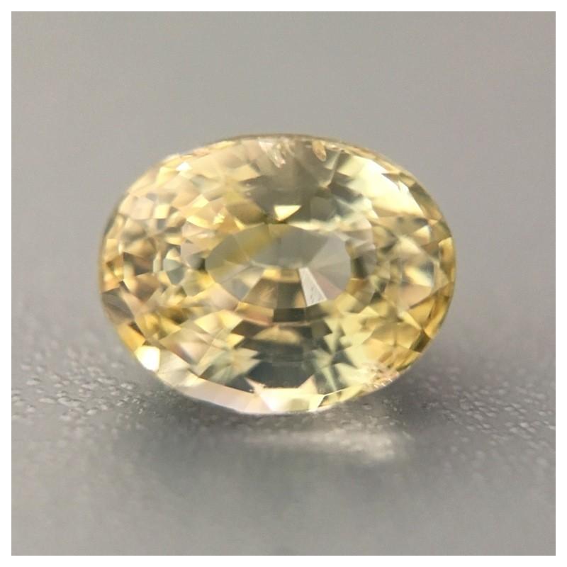 1.55 Carats Natural Yellow Sapphire  Loose Gemstone   New   Sri Lanka