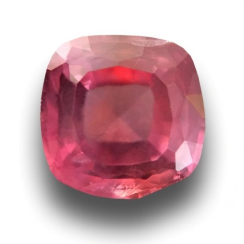 0.96 Carats | Natural Orange Pink padparadscha |Loose Gemstone|New| Sri Lanka