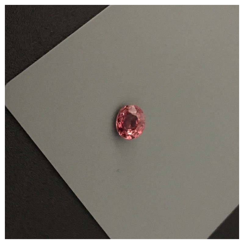 1.09 Carats | Natural Pinkish Orange sapphire |Loose Gemstone|New| Sri Lanka