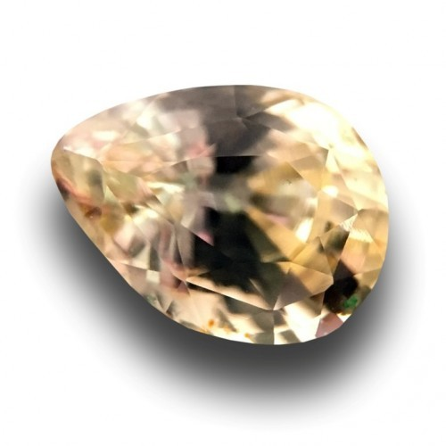 1.09 Carats | Natural Unheated yellow sapphire |New Certified| Sri Lanka