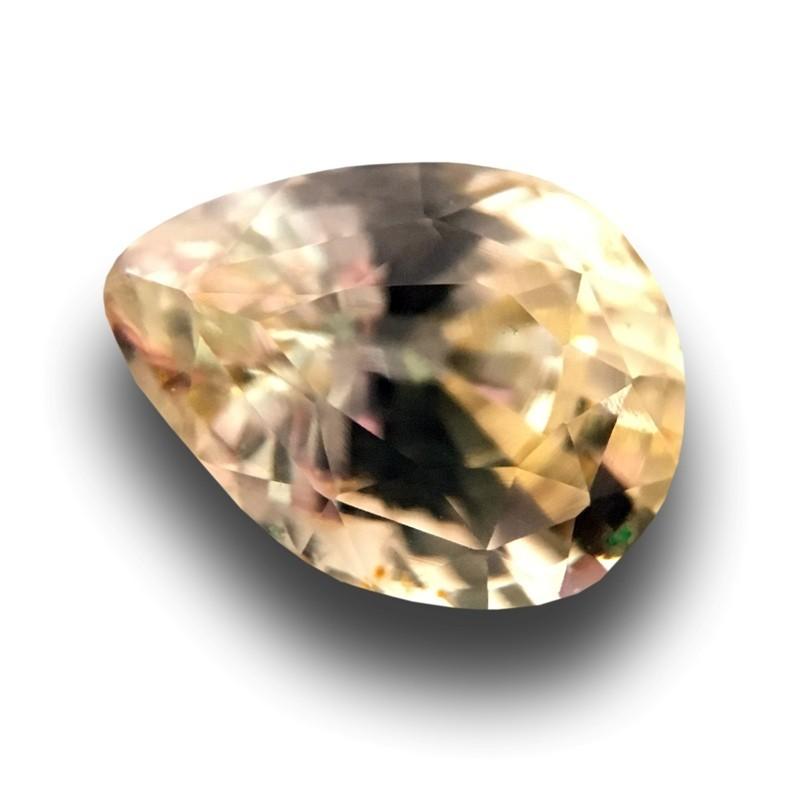 1.09 Carats | Natural Unheated yellow sapphire |New Certified| Sri Lanka