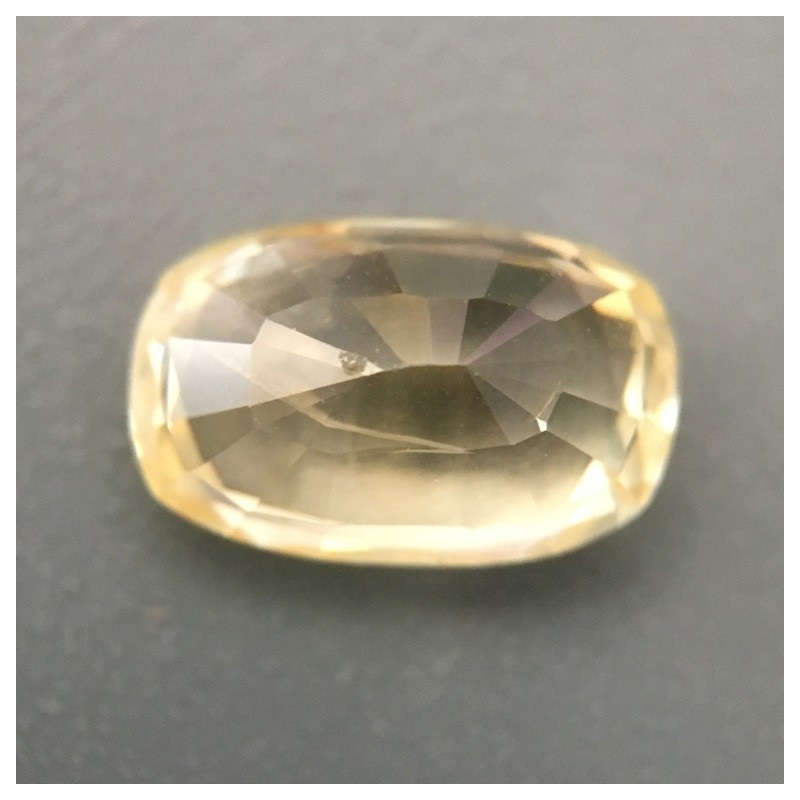1.89 Carats | Natural Unheated yellow sapphire |New Certified| Sri Lanka