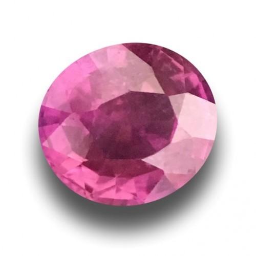 1.22 Carats | Natural Pink sapphire |Loose Gemstone|New Certified| Sri Lanka
