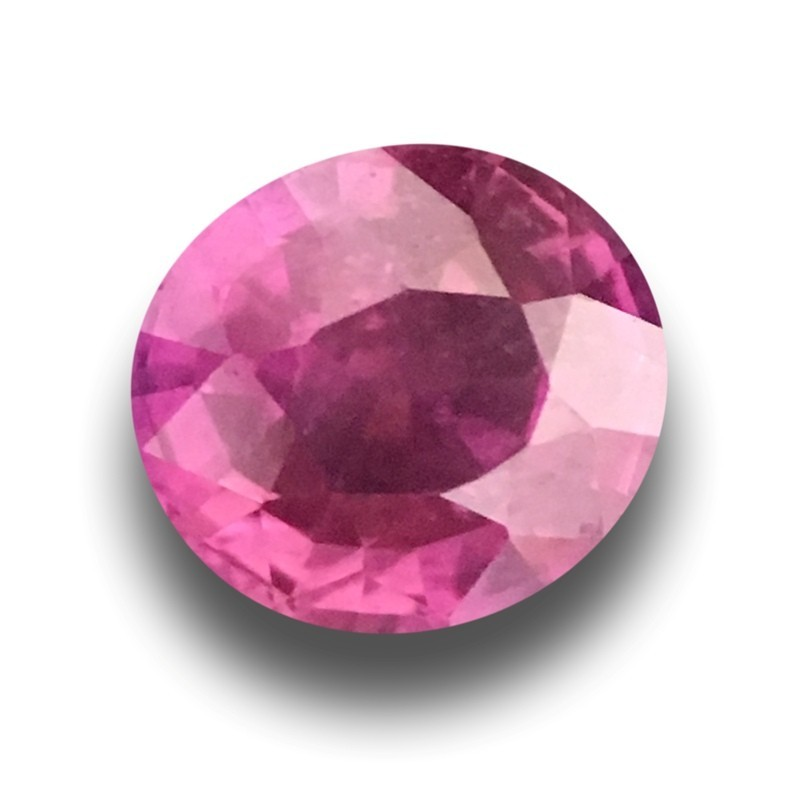 1.22 Carats | Natural Pink sapphire |Loose Gemstone|New Certified| Sri Lanka