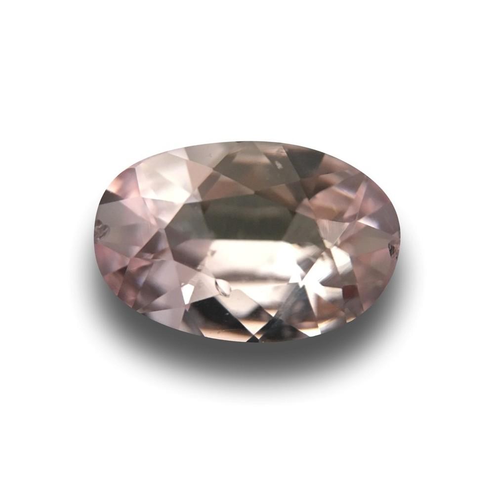 1 67 carats unheated light pink sapphire