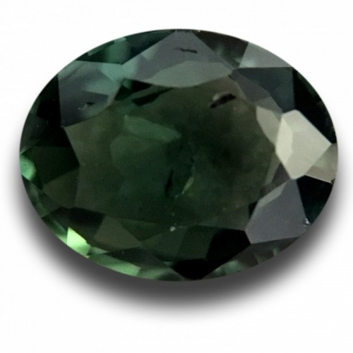 1.12 Carats | Natural unheated green sapphire |New Certified| Sri Lanka