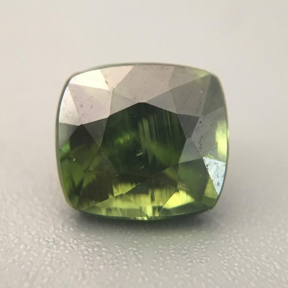 2 61 Carats Natural Green Zircon Loose Gemstone New Sri Lanka