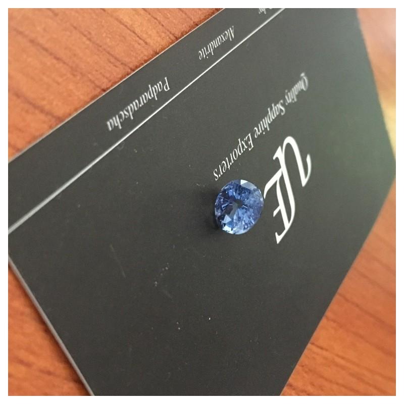 1.79 Carats   Natural Blue sapphire  Loose Gemstone New Certified  Sri Lanka