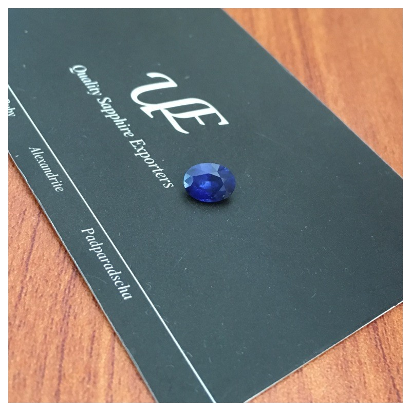 1.36 Carats |Natural Royal Blue sapphire|Loose Gemstone|New|Sri Lanka