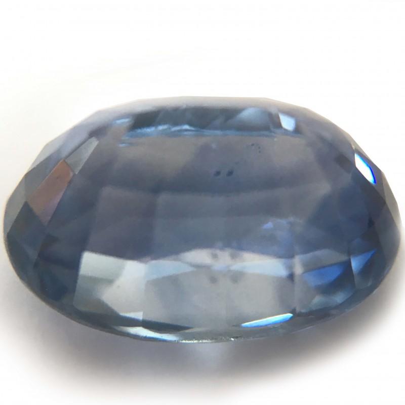 2.97Carats|Natural Blue sapphire|Loose Gemstone|Certified|Sri Lanka - New