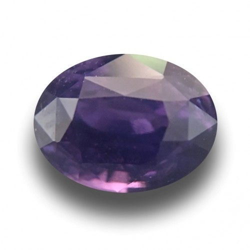 1.54 Carats |Natural Unheated Purple Sapphire | Loose Gemstone|Sri Lanka - New