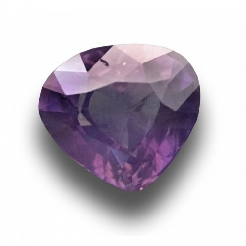 1.10 CTS| Natural Unheated purple sapphire|Loose Gemstone|New|Sri Lanka