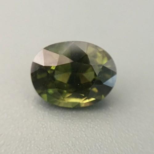1.68 Carats|Natural Green Zircon |Loose Gemstone| Sri Lanka-New