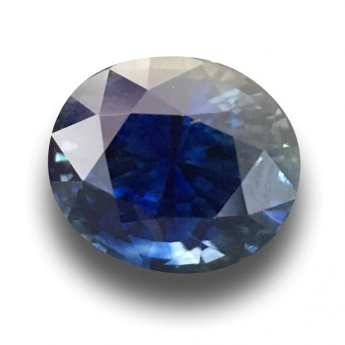 3.03 CTS| Natural Unheated Royal Blue Sapphire|Loose Gemstone | Sri Lanka - New