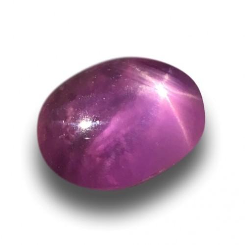 1.76 Carats | Natural Unheated Pink star sapphire |Loose Gemstone|New| Sri Lanka