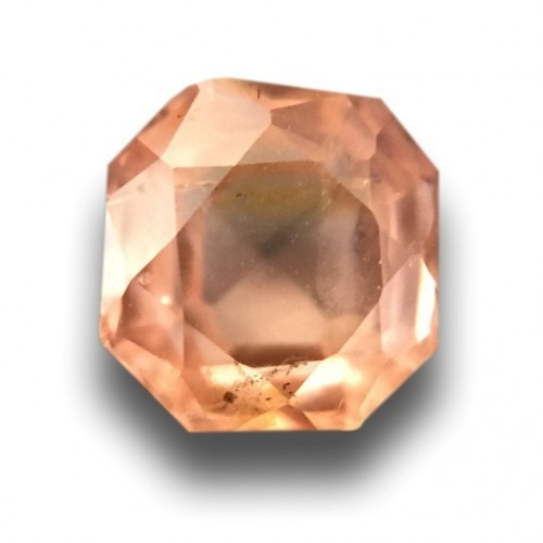 0.64 Carats | Natural Pinkish orange padparadscha |Loose Gemstone|New| Sri Lanka