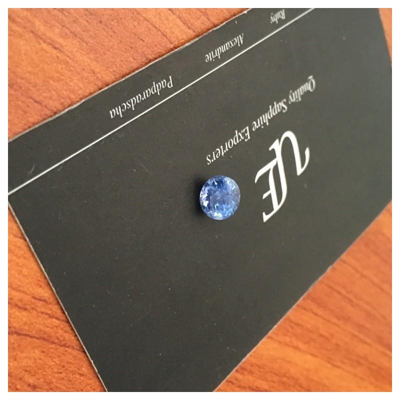 1.61 Carats   Natural Blue sapphire  Loose Gemstone New  Sri Lanka