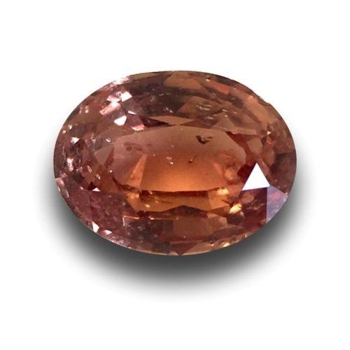 1.07 Carats | Natural Padparadscha|Loose Gemstone| Sri Lanka - New