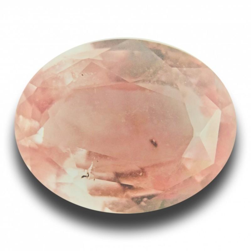 1.17 Carats | Natural Pinkish orange padparadscha |Loose Gemstone|New| Sri Lanka