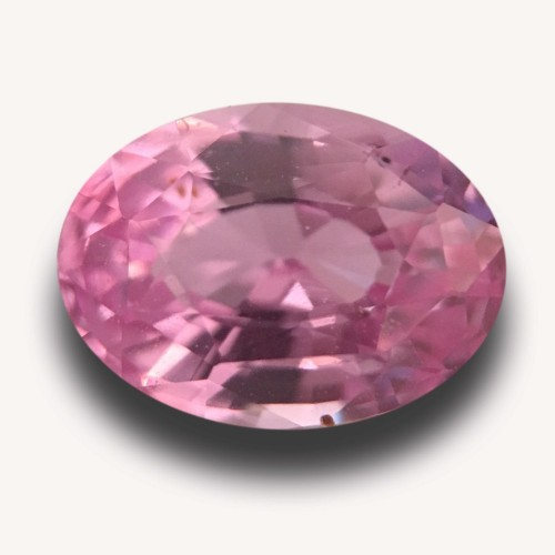 1.05 CTS | Natural Pink Sapphire |Certified | Loose Gemstone | Sri Lanka - New